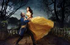 Disneyfied Celeb Photography - Annie Leibovitz's Let the Memories Begin Series is a Fairy Tale