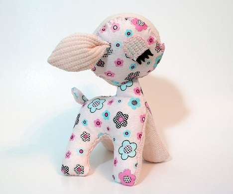 Eco Plush Critters - The Handmade Wonder Forest Toy Collection is Magically Adorable