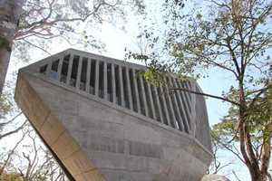 Bunker Arquitectura's Sunset Chapel is Designed After a Granite Boulder