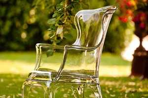 Pasha is an Incredible Transparent Chair by Marco Pocci and Claudio Dondoli