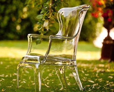 See-Through Seating - Pasha is an Incredible Transparent Chair by Marco Pocci and Claudio Dondoli