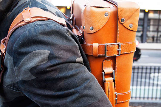 Rigid Leather Bags
