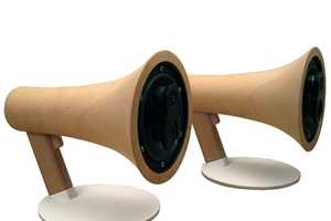 Listen to Music Loud and Clear With These Megaphone Speakers