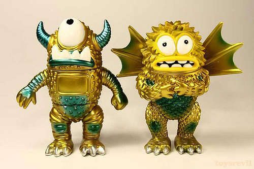 Miniature Metallic Monsters