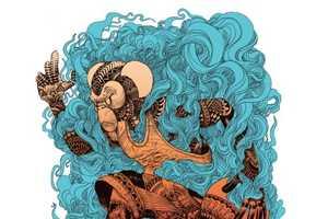 Ian Macarthur Creates Mesmerizing Ink-Inspired Drawings