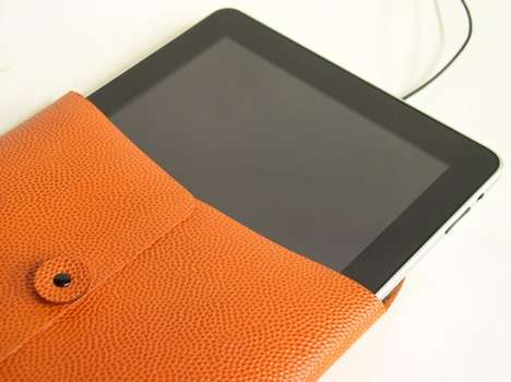Basketball Leather iPad Case