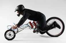 Skeletal Screwdriver Bicycles - The EX by Nils Ferber is Definitely an Extremely Eccentric Ride