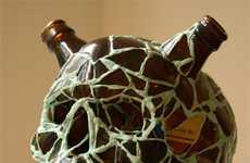 Brutish Beer Bottle Busts