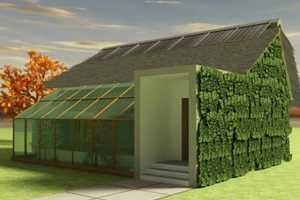 Square 2 Design Creates an Eco-Friendly Abode for Romania