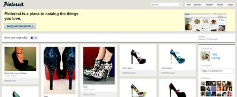 Pinterest Microblogging Site