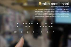 The Braille CC is Designed with the Blind in Mind