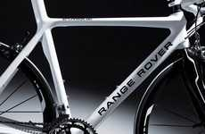 Rugged Concept Bicycles - The Range Rover Road Bike is a Seriously High-End Ride