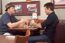 Comedic Diner Campaigns - The Denny's Always Open Video Series Hosted by David Koechner
