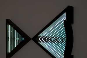Ivan Navarro Turns Walls 3D With His Unique Light Canvases