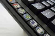 Social Networking Typing Tools - The Facebook S.N.A.K. Keyboard is Enhanced with Hotkeys