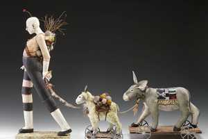 Nancy Kubale's Latest Sculptures Remind One of a Demented Circus