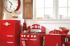Vintage Kids Kitchens
