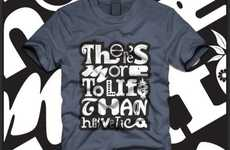 17 Typographic Tees