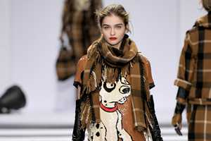 Designer Jean-Charles Castelbajac Shows Puppies on 2011 Paris Runway