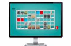 Shelved Data Storage - The IKEA Desktop E-Folder Set Brings Organization to Your Monitor