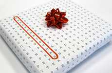 Crossword Puzzle Paper - Have Fun Solving and Wrapping Gifts With the Universal Wrapping Paper