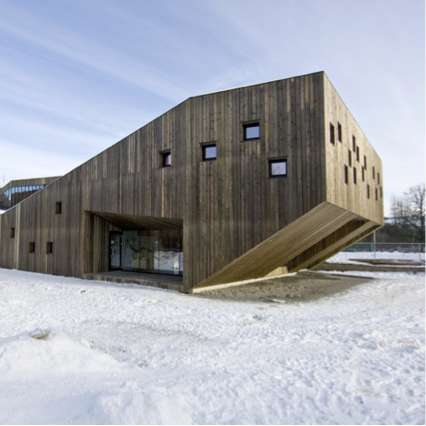 Warm Wooden Schools - The Fagerborg Kindergarten by RRA is Outfitted in a Timber Embrace