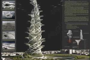 The Tree of Life Skyscraper Provides a Complete Setting for Human Existence