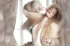 Soft Vaporous Photoshoots - Marlena Szoka by Benjamin Kanarek Has a Magnificent Mystic Quality
