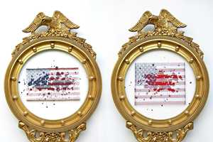 Jeremy Dean Creates Wicked Variations of the American Flag
