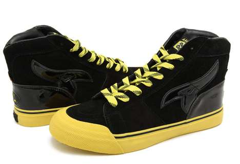 Badass Superhero Kicks - These Masterpiece x Airwalk x DC Comics Shoes Will Have Geeks Drooling