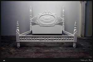 MachineHistories Creates Detailed Custom Corian Bed Frames