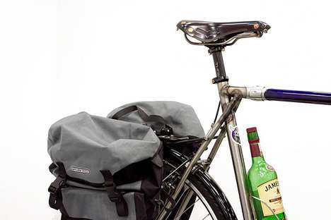 Booze-Holding Bikes - The Geekhouse Woodville is a Fine-Crafted Whiskey-Baring Two-Wheeler
