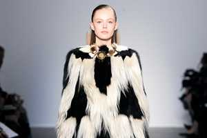The Giambattista Valli Fall 2011 Line Adds Drama With Domesticated Animal Fur