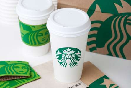 New Starbucks Branding
