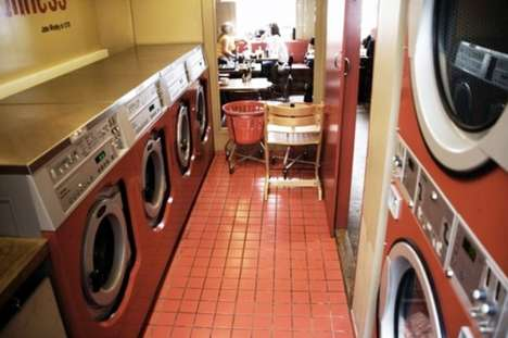 Clothes-Cleaning Cafes - Copenhagen's Laundromat Cafe Lets You Do Laundry While Sipping Lattes