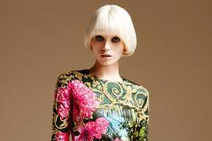 Abbey Lee Kershaw for Atelier Versace Spring 2011 in Short & Sweet Hair