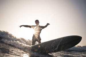Bryce Johnson Takes Stunning Surf Shots Off the Coast