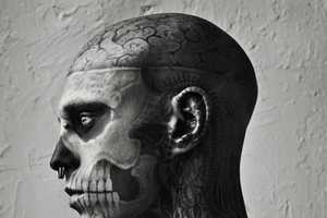 Rick Genest Poses for Vogue Hommes Japan Spring/Summer 2011