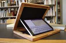 Privacy-Protecting iPad Cases - The BRUDAcase is a Solid Wood iPad Case That Blocks Wandering Eyes