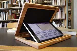 The BRUDAcase is a Solid Wood iPad Case That Blocks Wandering Eyes