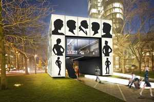 The Lightbox Shop for Schwarzkopf Was Designed by Karl Lagerfeld