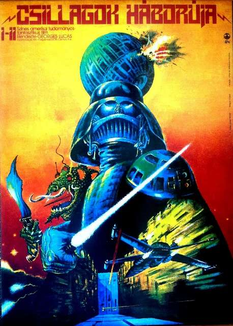 Hungarian Star Wars posters