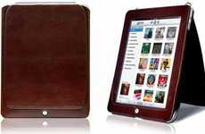 Tech-Savvy iPad Covers - The Padova iPad Case by Orbino Features Smart Cover Technology