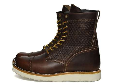 Badass Woven Boots - The Neighborhood SS11 Collection Features the Wicked C.W.P. Log Boots