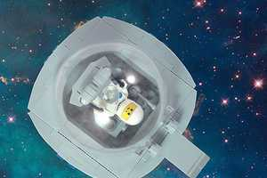 Mark Anderson Built 26 Alphabet-Shaped Space Crafts