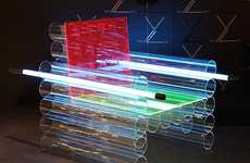 Futuristic Neon Furniture