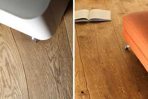 Customized Bolefloor Floors Keep Wood's Natural Curves Aligned