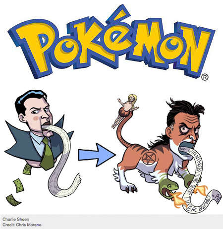 Celebrity Pokemon Parodies