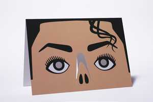 The 'Designers Anonymous' Greeting Cards Double as Wearable Masks