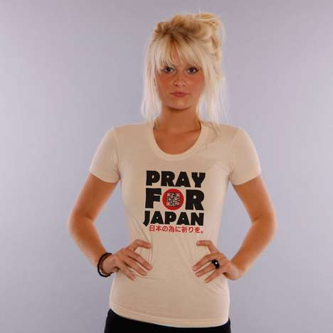 QR Code Shirt for Japan Relief